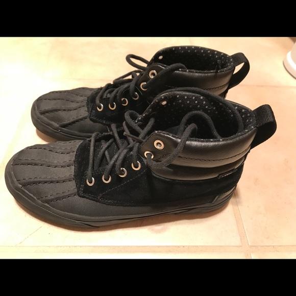 80f5a9a087 Vans Waterproof Sneaker Boots Ladies 9.5, Men's 8